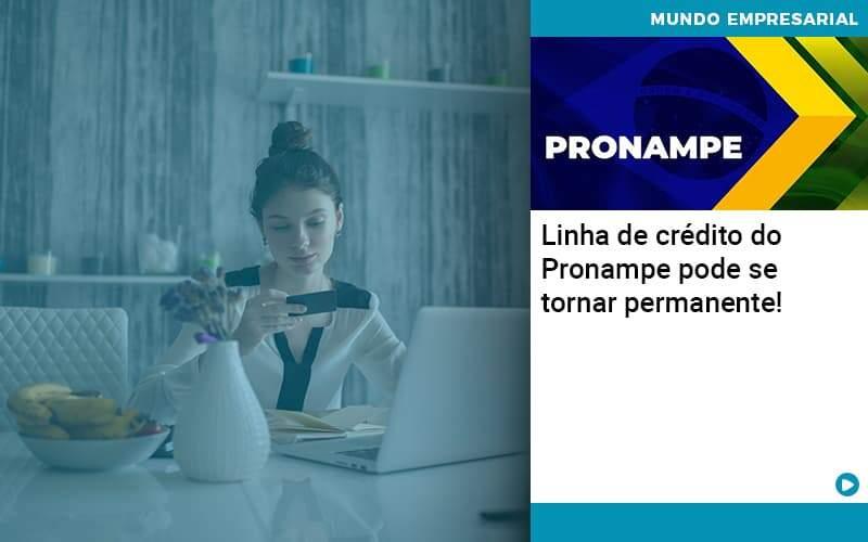 Linha De Credito Do Pronampe Pode Se Tornar Permanente Organização Contábil Lawini - Contabilidade na Vila Andrade - SP | ASA Consultoria, Perícia e Contabilidade